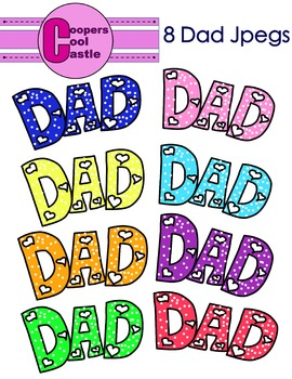 Dad (Digital Clip Art)