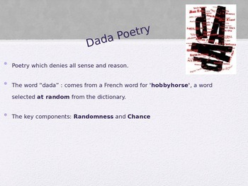 Dadaism (Dadaist Poetry)