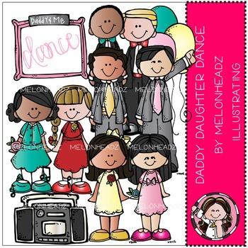 Melonheadz: Daddy Daughter Dance clip art - COMBO PACK