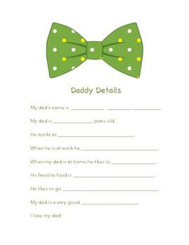 Daddy Details