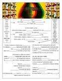 Daddy Yankee  - 'Dura' Cloze Song Sheet!