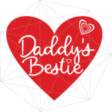 Daddy's Bestie Happy Mother's Day SVG Crafters Mama Heart