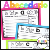 Dados, letras y oraciones (Roll the die and write a sentence)