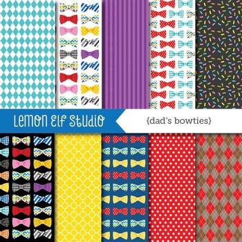 Dad's Bowties-Digital Paper (LES.DP33)