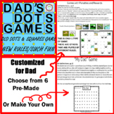 Distance Learning Fathers/Dads Day Dot Games Gift & Card