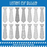 Dad's Neckties-Digital Stamp (LES.DS32)