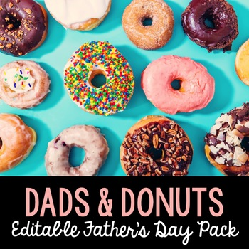 Dads and Donuts: Father's Day Party Kit and Gift