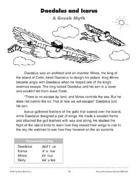 Daedalus and Icarus (A Greek Myth)