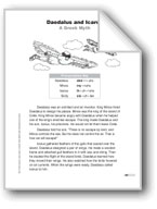 Daedalus and Icarus: A Greek Myth (Lexile 590)