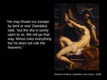 Daedalus and Icarus in Art