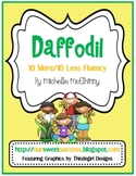 Daffodil: Adding/Subtracting 10's {Common Core Based)