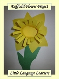 Spring Daffodil Flower Art Project