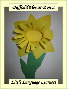 Spring Daffodil Flower Art Project