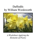 Applying the Elements of Poetry to Daffodils by William Wordsworth