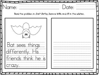 Daft Bat Writing Responses