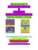 Dahl 2-pack: Fantastic Mr Fox & George's Marvelous Medicine Literature Units