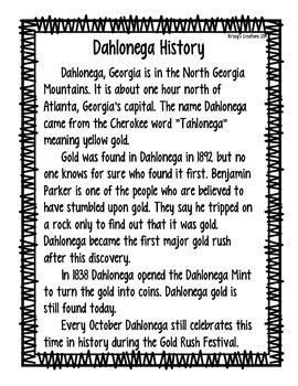 Dahlonega History