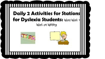 Daily 2 Stations for Special Learners