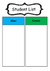Daily 3 Literacy Center Bookmarks