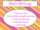 Daily 3 MATH Behaviors Anchor Charts/Posters (Tangerine Ho