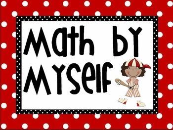 Daily 3 Math Baseball Theme