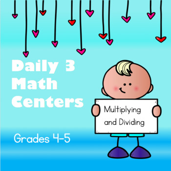 Daily 3 Math Centers - Multiplying and Dividing