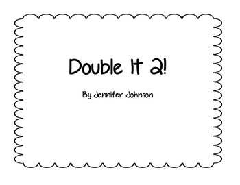 Daily 3 Math Double it 2 Dice Game