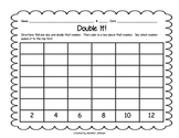 Daily 3 Math Double it Dice Game