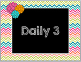 Daily 3 Math Power Point