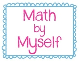 Daily 3 Math Signs