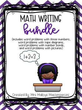 Daily 3 Math Writing BUNDLE