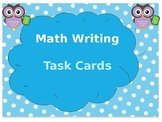 Daily 3- Math Writing Task Cards