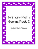 Daily 3 Math primary games bundle # 2 (15 more games)