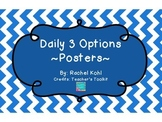Daily 3 Posters