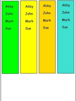 Smartboard Daily 3 Rotation Schedule