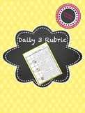 Daily 3 Rubric