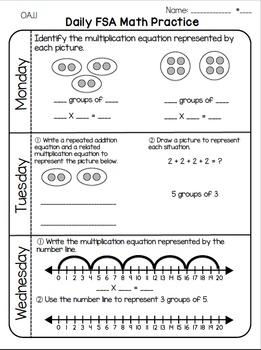 Daily Math Practice Grade 3 Free