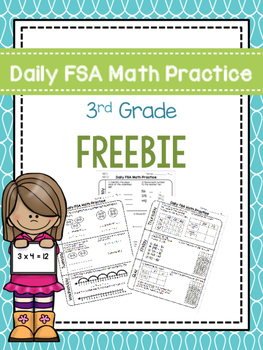 picture regarding Free Printable Morning Work for 3rd Grade identify Day by day 3rd Quality Math FSA Coach Early morning Function Pattern