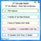 3rd Grade Daily Spiral Math Review Set 5 - TEKs/STAAR