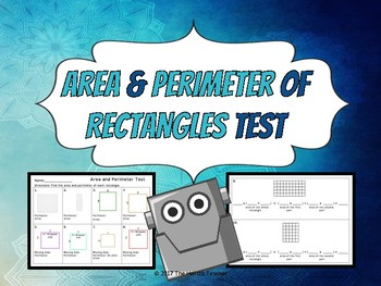 Area and Perimeter Test (Rectangles only)