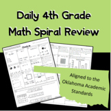Daily 4th Grade SPIRAL Review OAS Aligned