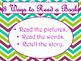 Daily 5 3 Ways/IPICK/EEKK Anchor Charts (Purple Green Chevron Theme)