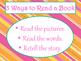 Daily 5 3 Ways/IPICK/EEKK Anchor Charts (Tangerine Hot Pink Theme)