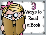 Daily 5 {3 Ways to Read a Book}