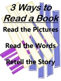 Daily 5 3 Ways to Read a Book Poster