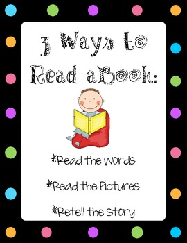 Daily 5 - 3 Ways to Read a Book Posters