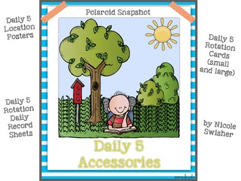 The Daily 5! Class/Rotation Signs (big and small), Record Sheet, Cross Off Sheet