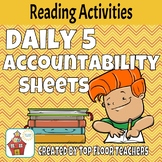Daily 5 Accountability Sheets
