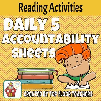 Daily 5 Accountability Sheets