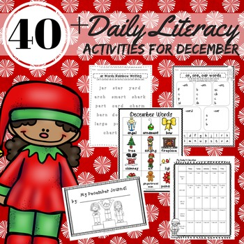 Literacy Activities December 2nd Grade Reading, Writing, W